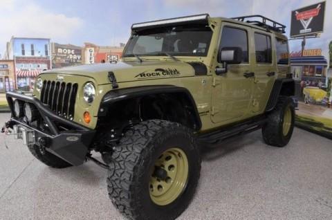 2013 Jeep Wrangler Sahara Rock Creek Edition na prodej
