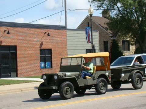 1946 Willys CJ-2 na prodej