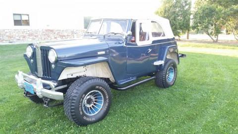 1948 Jeep Jeepster Scrambler na prodej