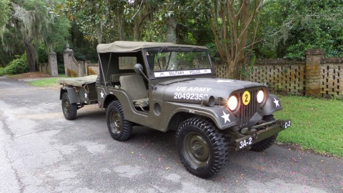 1952 Willys JEEP M38A1 na prodej