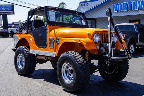 1969 Jeep CJ5 na prodej