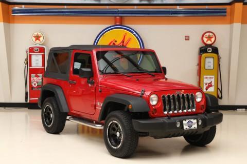 2009 Jeep Wrangler X na prodej