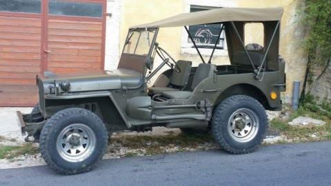 1945 Jeep Willys obnovený do původního stavu na prodej