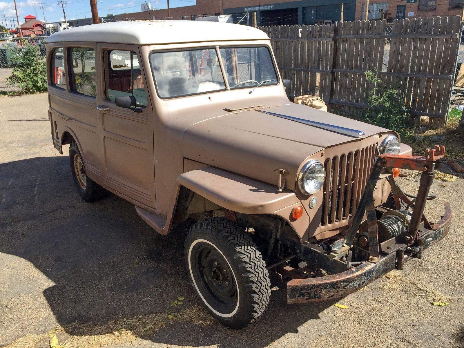 1950 Jeep Willys Wagon Na Prodej