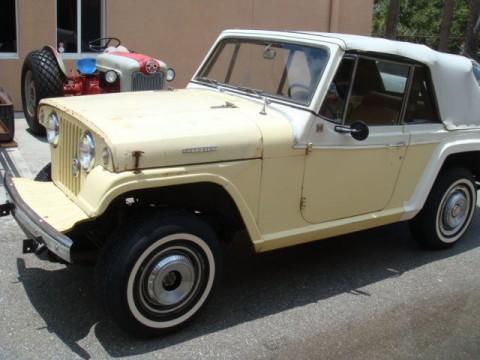 1968 Jeep Commando White Convertible na prodej