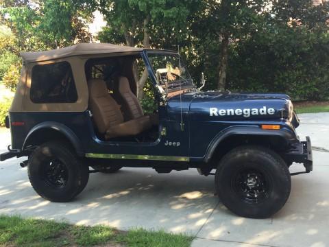 1980 Jeep CJ7 na prodej