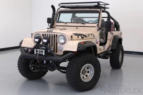 1982 Jeep CJ Scrambler na prodej
