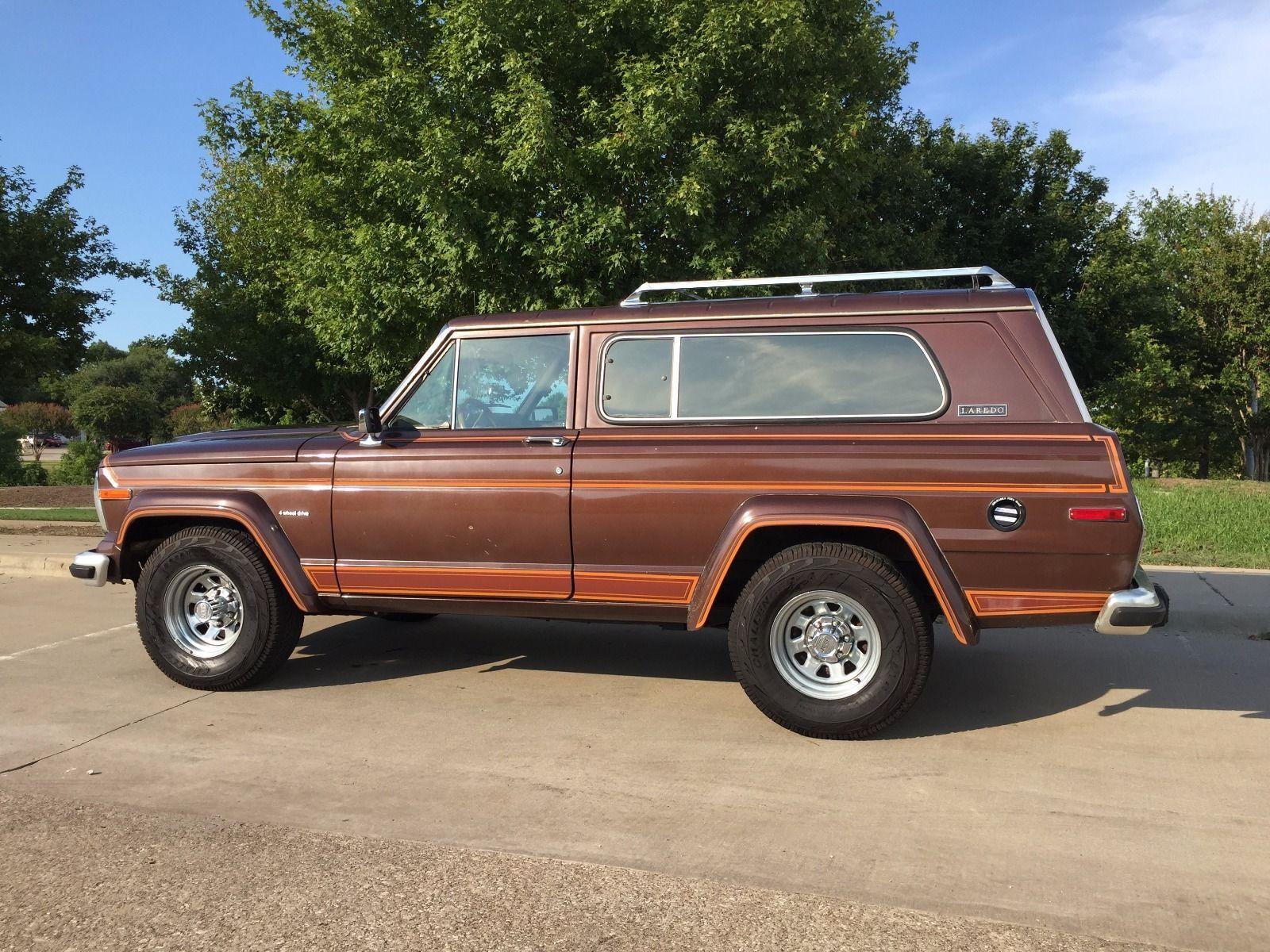 1983 Jeep Cherokee Laredo na prodej