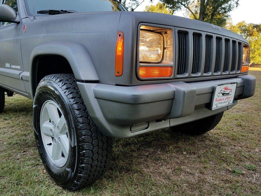 jeep cherokee xj manual transmission