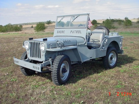 1948 Willys CJ2A Navy na prodej