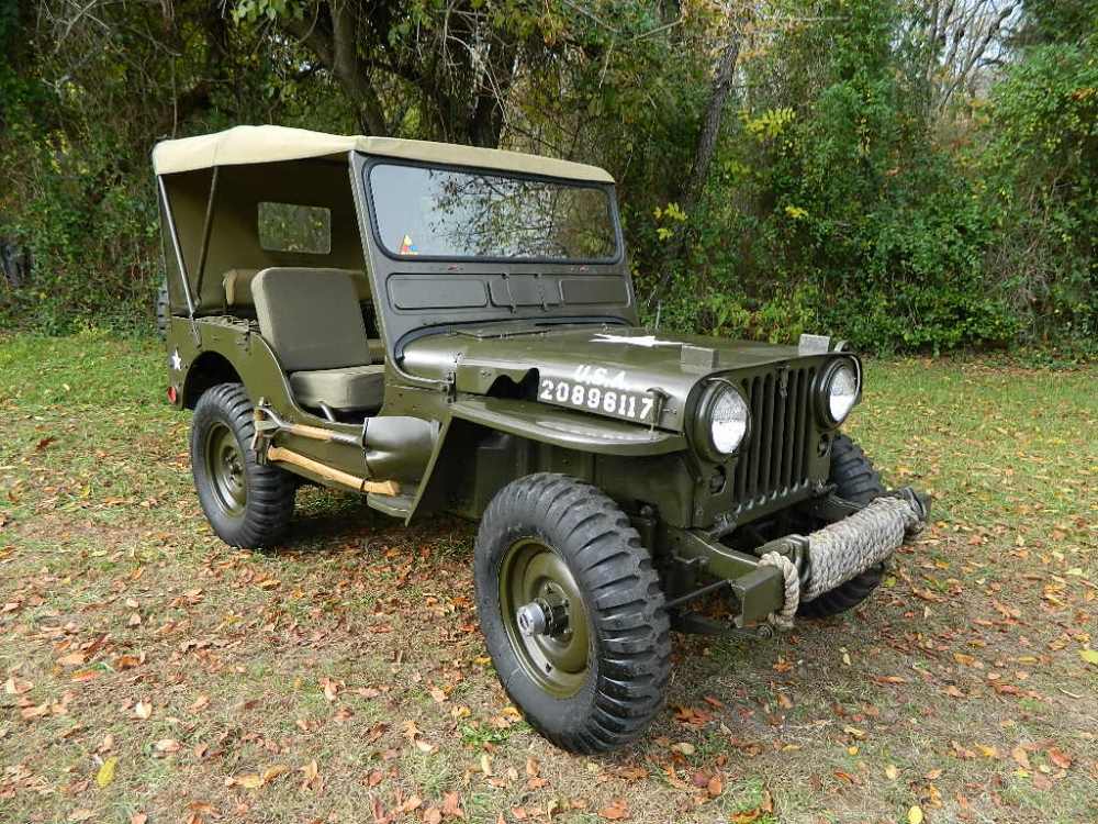 M38 Jeep For Sale >> 1951 Jeep Willys Overland M38 Military Jeep na prodej
