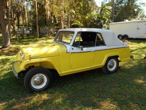1967 Jeep Jeepster Commando V6 na prodej