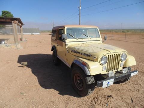 1980 Jeep CJ Golden Eagle-CJ7 na prodej