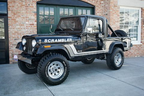 1982 Jeep Scrambler 5.3L LS Conversion na prodej