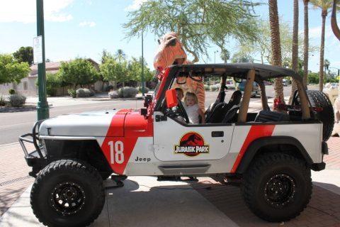 1995 Jeep Wrangler YJ Jurassic Park na prodej