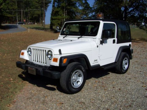 2004 Jeep Wrangler 1-owner 84K NO RUST Never ON MAIL Route RARE FIND na prodej