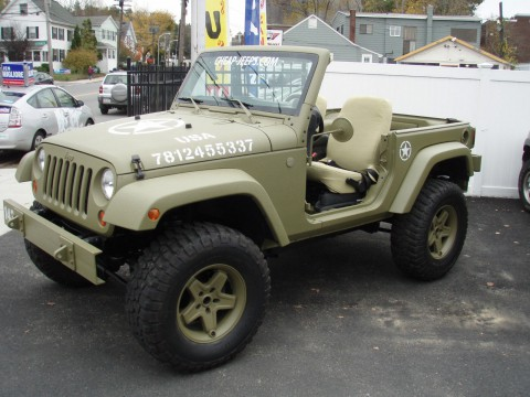 2012 Jeep Wrangler Sport, army Jeep na prodej