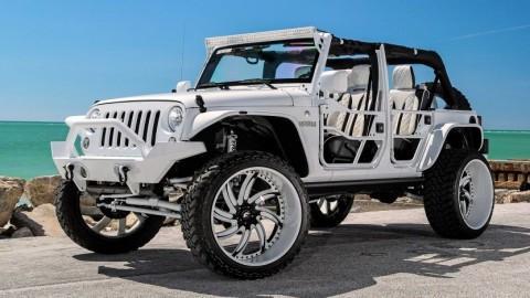 2015 Jeep Wrangler na prodej