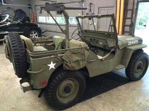 1942 Willys Jeep WW 2 na prodej