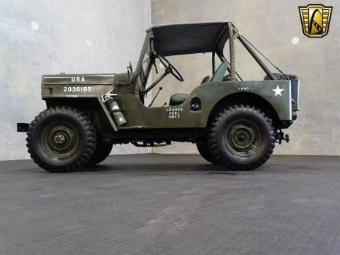 1962 Jeep Willys CJ3B. na prodej