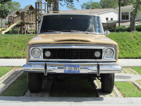 1977 Jeep Wagoneer is the first luxury 4×4 na prodej