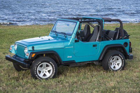 1997 Jeep Wrangler na prodej