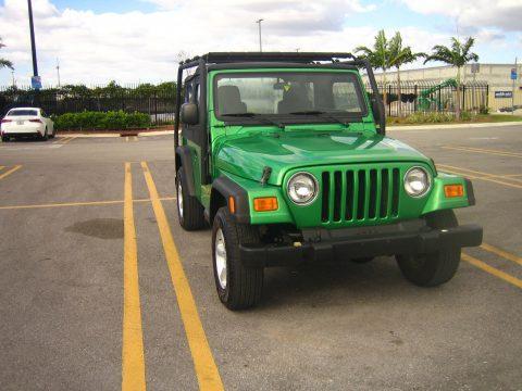 2005 Jeep Wrangler TJ manual na prodej
