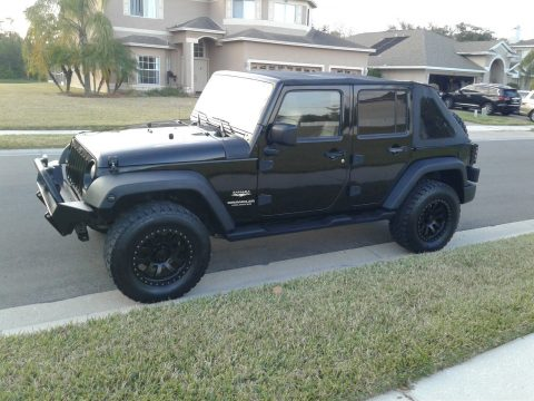2007 Jeep Wrangler Unlimited Sahara na prodej