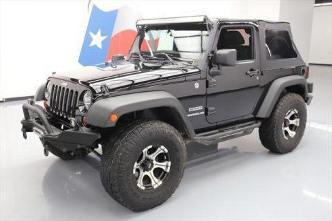 2012 Jeep Wrangler SPORT 4X4 SOFT TOP na prodej
