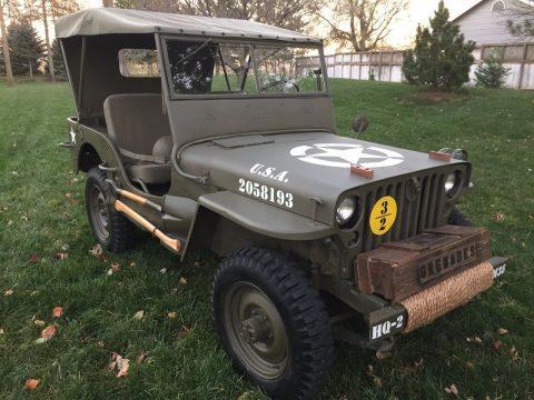 Jeep 1952 Willys M38 na prodej