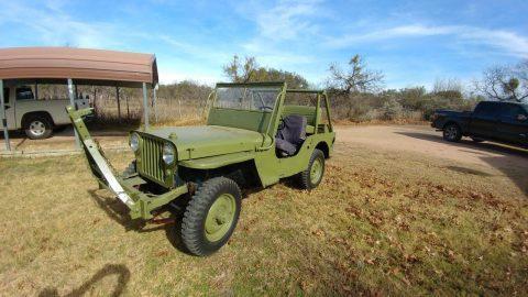 1948 Jeep Willys na prodej