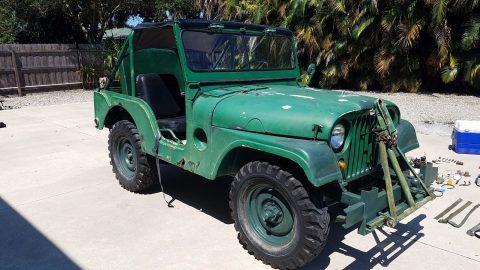 1951 Willys Jeep M38 na prodej