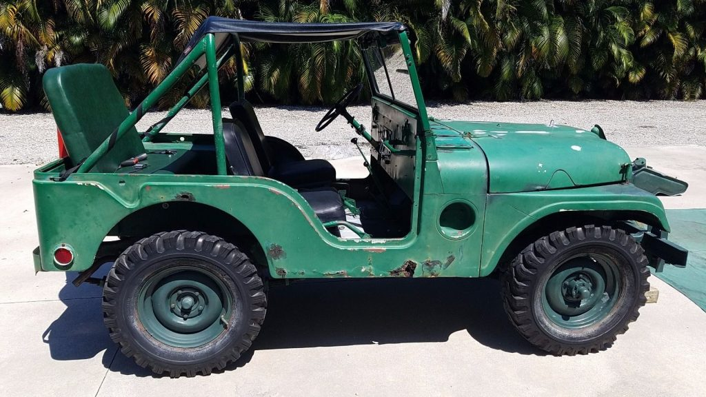 1951 Willys Jeep M38