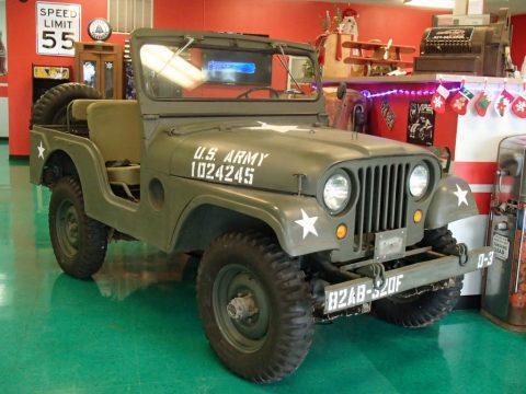 1954 Jeep Willys Military B-38 na prodej