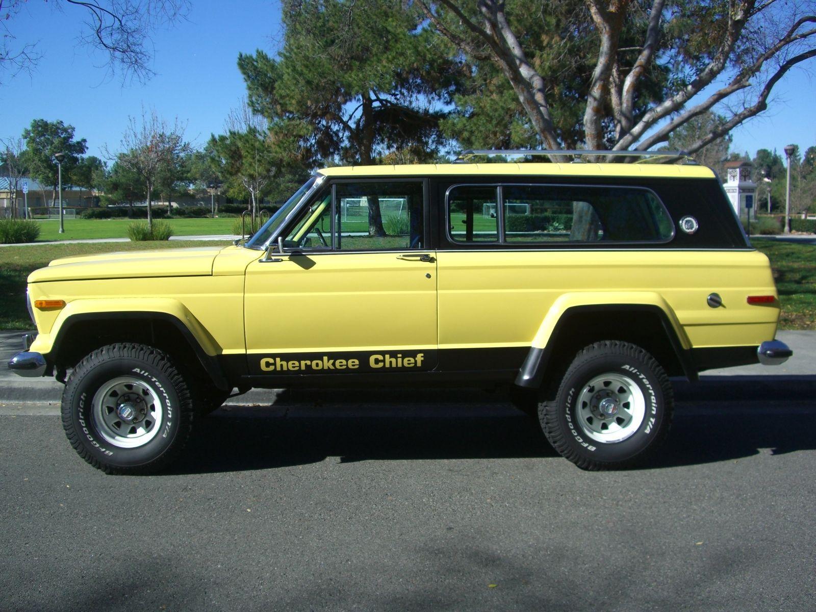 "2017 Jeep Cherokee Lifted >> 1978 Jeep Cherokee Chief ""S"" na prodej"