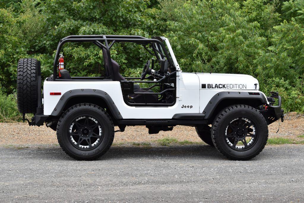 Black Rims For Jeep Wrangler >> 1980 Jeep CJ7 na prodej