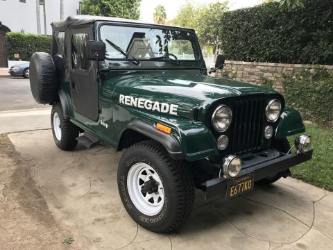 1983 Jeep CJ 7 Renegade na prodej