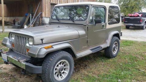 1989 Jeep Wrangler YJ Laredo na prodej