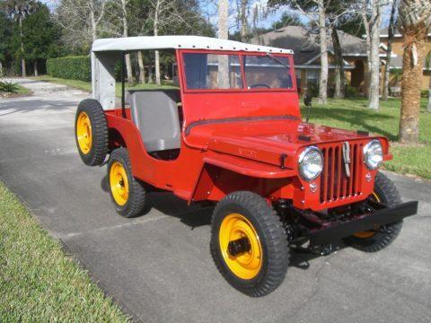 1946 Willys Jeep CJ2A na prodej