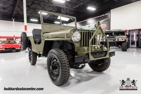 1947 Jeep Willys Fully Restored Excellent Example na prodej