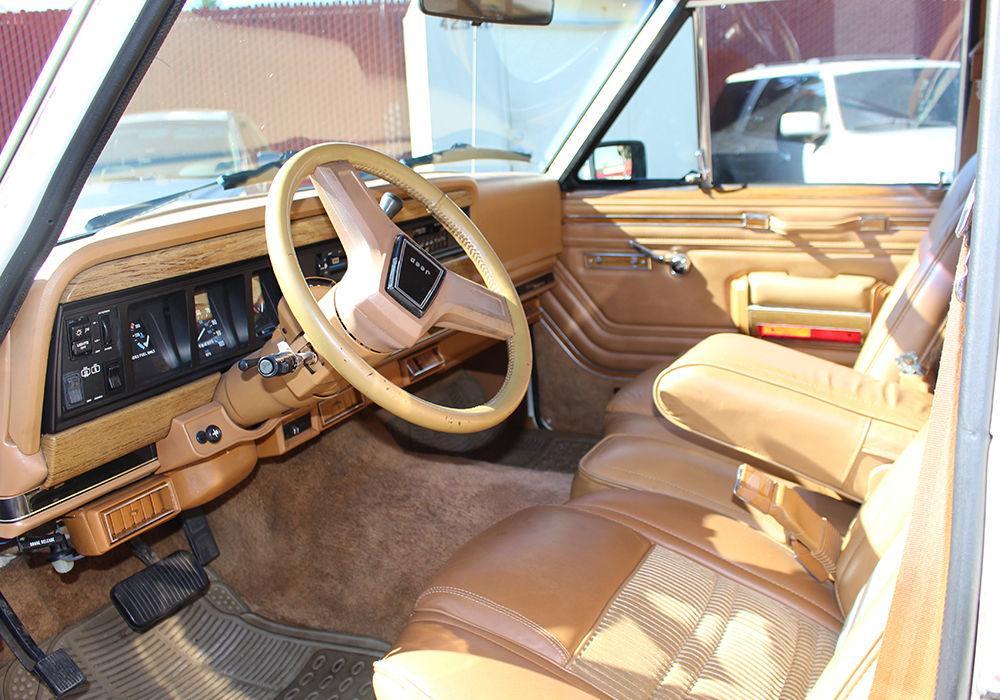 1986 Jeep Grand Wagoneer 5.9l
