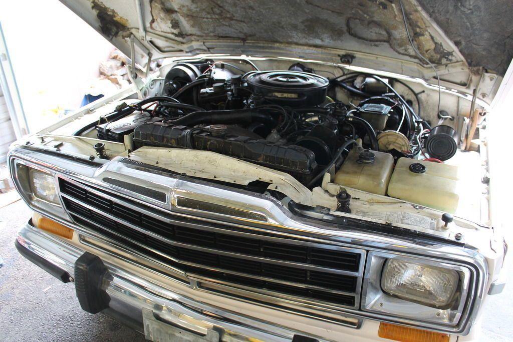 1986 Jeep Wagoneer Convertible