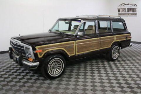 1989 Jeep Wagoneer na prodej