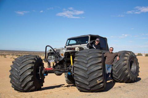 1989 Jeep Wrangler & insured Rock Crawler na prodej