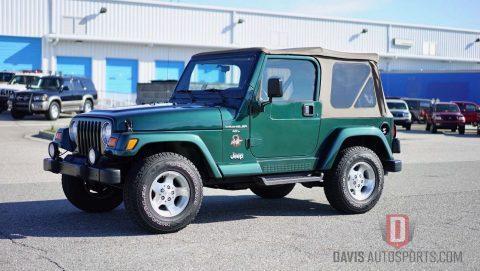 2001 Jeep Wrangler TJ SAHARA ONLY 46k mil na prodej