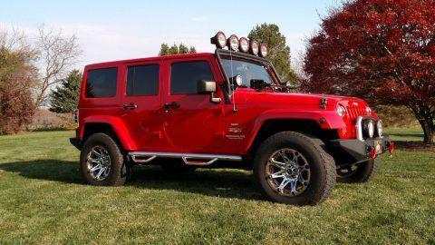 2012 Jeep Wrangler Unlimited Sahara Sport na prodej