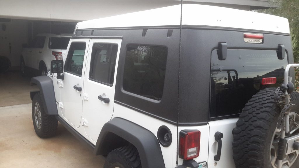 2014 Jeep Wrangler With Ursa Minor Pop Top Camper Na Prodej