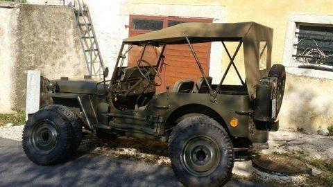 1945 Jeep Willys – Original WW II Vehiecle na prodej