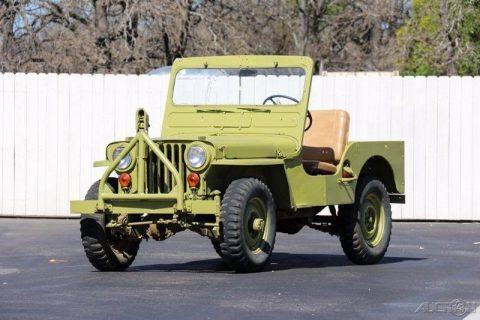 1951 Willys Jeep na prodej