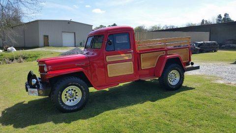 1953 Jeep Willys Truck na prodej